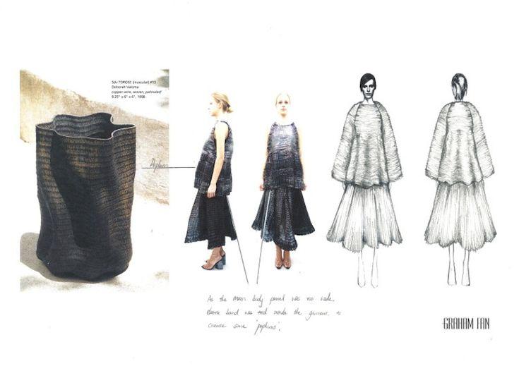 Fashion Sketchbook - fashion design & textiles development; fashion illustration; fashion portfolio // Graham Fan