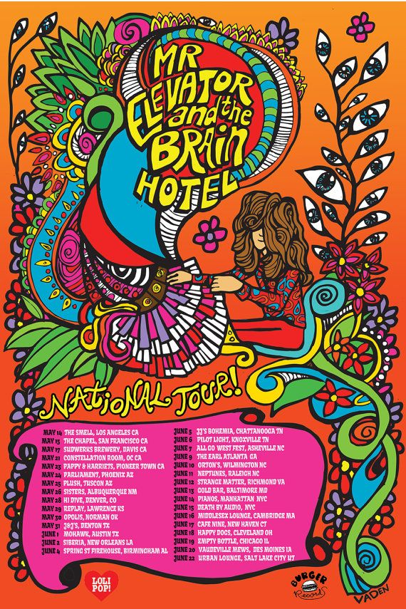 Mr Elevator And The Brain Hotel Tour
