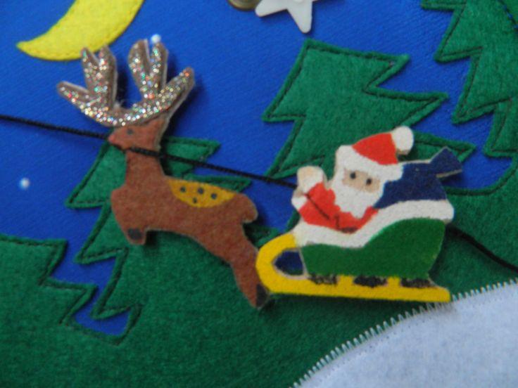 Quiet book / Cristmas book / Gift / Santa