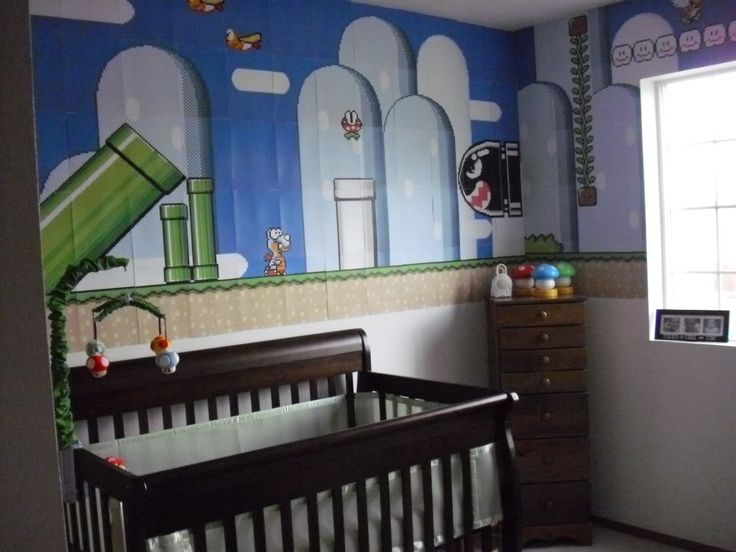 mario nursery image by shaenaleland on photobucket