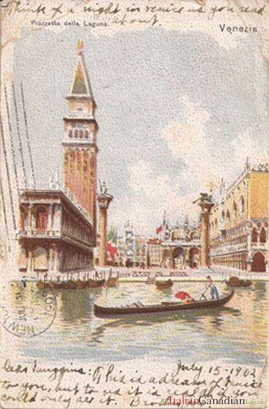 Котиками, открытки старой италии