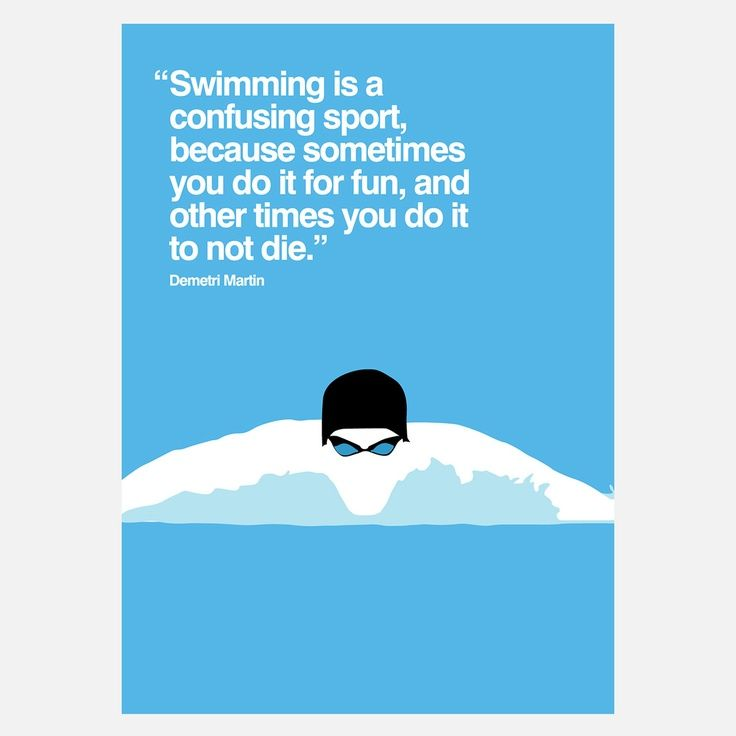 swimming sayings | Swimming | Swim quotes