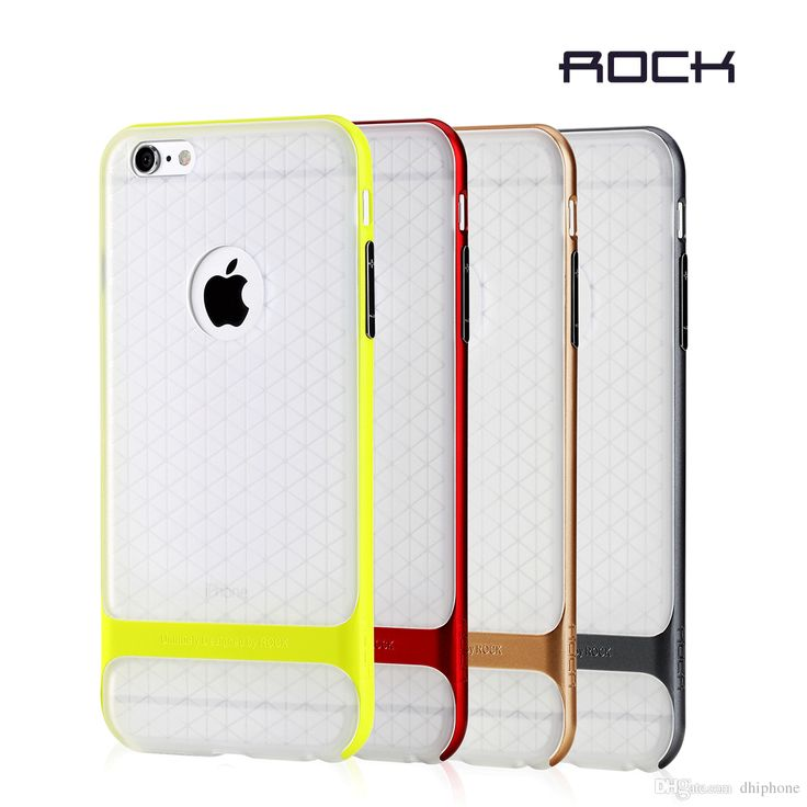 Now Cell Phone Cases For Iphone 6 6s 6plus/6splus Double Layer Protactiontransparent Soft Tpu Silicone Cover Retail Box By Rock Cute Phone Cases Cheap Phone Cases From Dhiphone, $6.54| Dhgate.Com