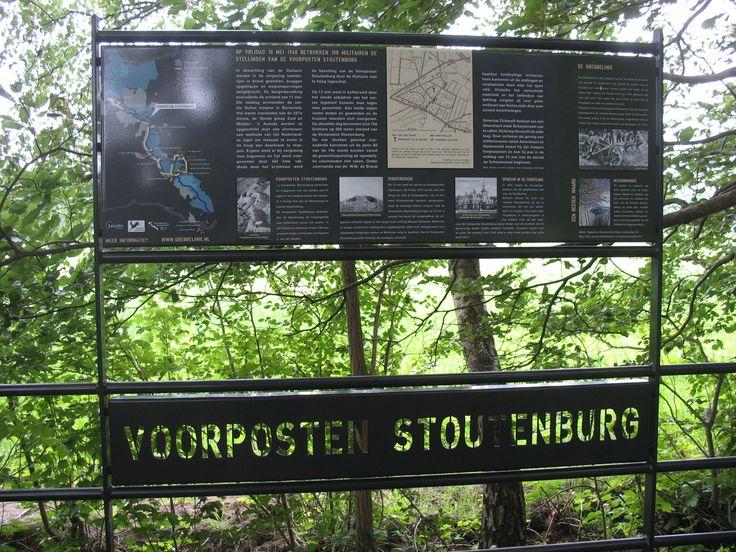 Klompenpad - Stoutenburgerpad: Voorposten Stoutenburg
