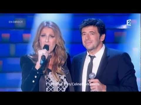 Celine Dion & Patrick Bruel - Qui A Le Droit (Le Grand Show - France 2 - 24/11/12) - YouTube
