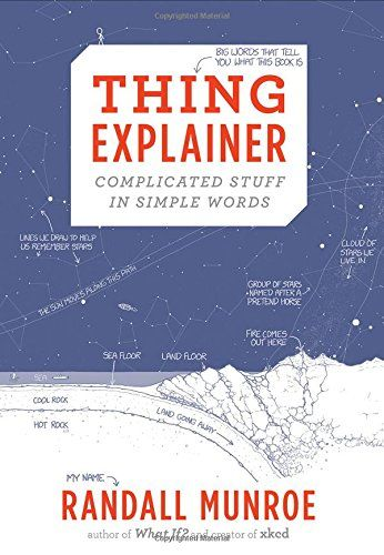 News Thing Explainer: Complicated Stuff in Simple Words   buy now     $14.96 Have you ever tried to learn more about some incredible thing, only to be frustrated by incomprehensible jargon?  Randall Mun... http://showbizlikes.com/thing-explainer-complicated-stuff-in-simple-words/