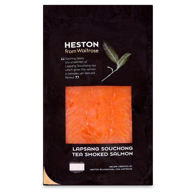 Heston Tea Smoked Salmon Waitrose 400g