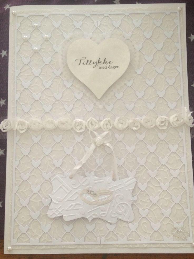 Bryllupskort A4