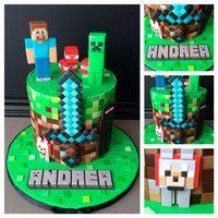 Resultado de imagen para muñeco de minecraft steve torta