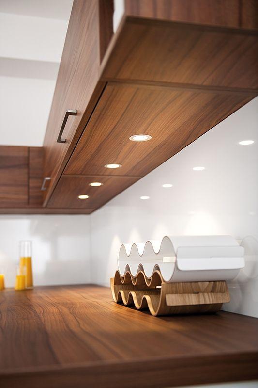 #Kitchen #Strass Range With Under #shelving #unit #lighting #NewKitchen #