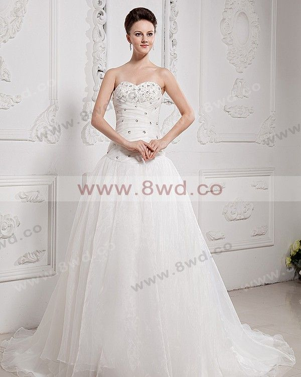 By Carolyn Carr Trumpet/Mermaid Sweetheart Sleeveless Chapel train Tulle Wedding Dress  In Canada Wedding Dress Prices 💟$329.99 from http://www.www.dressosity.com   #canada #sweetheart #weddingdress #trumpet/mermaid #carr #in #dress #mywedding #prices #by #sleeveless #bridalgown #carolyn #chapel #bridal #wedding #train #tulle