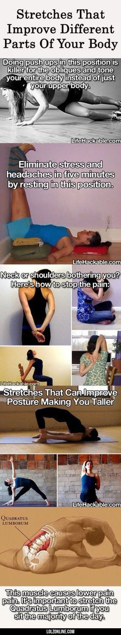 Stretches That Improve Different Parts Of Your Bod#funny #lol #lolzonline