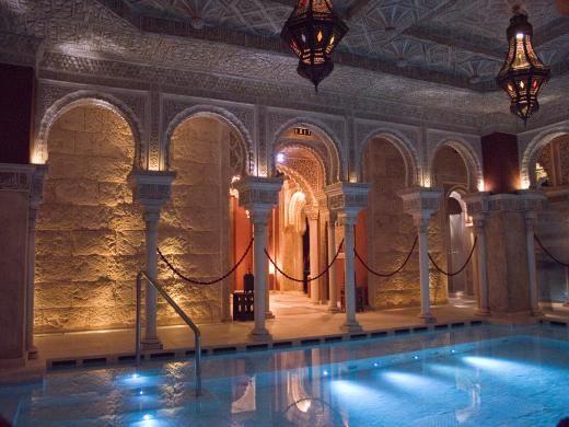 Arab bath in Benalmadena, Malaga
