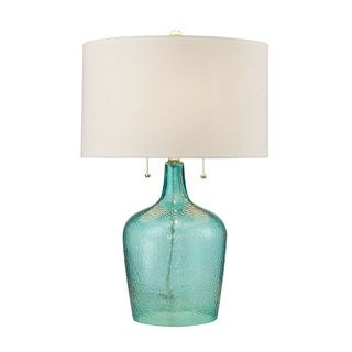 Shop for Dimond Hatteras Hammered Glass Seabreeze Table Lamp. Get free shipping at Overstock.com - Your Online Home Decor Outlet Store! Get 5% in rewards with Club O!