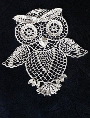 Mis Pasatiempos  Amo el Crochet: El esquema de ganchillo que hace punto del búho