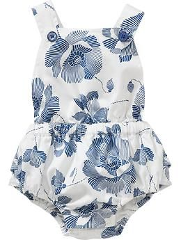Indigo Flora; Rompers for Baby | Old Navy