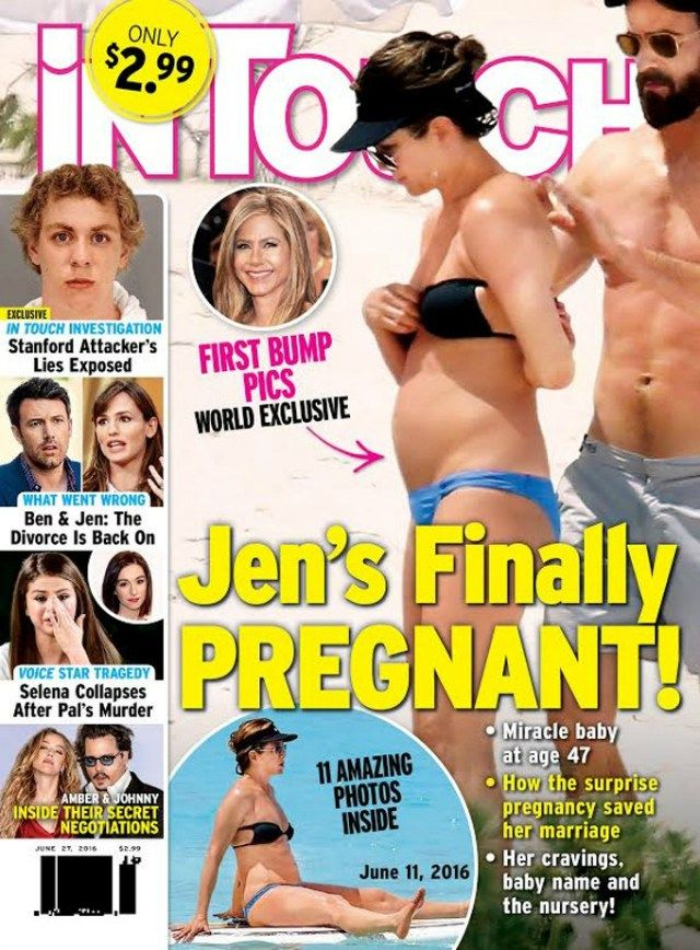 Jennifer Aniston Sparks New Pregnancy Rumors in Bikini on Vacation With Husband Justin Theroux - http://thisissnews.com/jennifer-aniston-sparks-new-pregnancy-rumors-in-bikini-on-vacation-with-husband-justin-theroux/