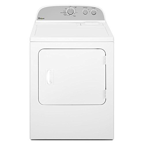 awesome Whirlpool WED4815EW 7.0 cu. ft. Top Load Electric Dryer with Heavy Duty Cycle, White