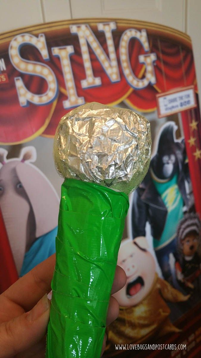 DIY Microphone Craft for Kids