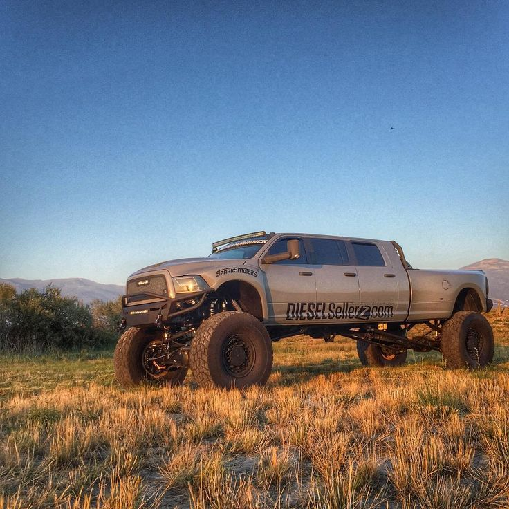 Because who wouldn't want a 6 door, wIth MRAP axles, 600hp, custom built dodge…