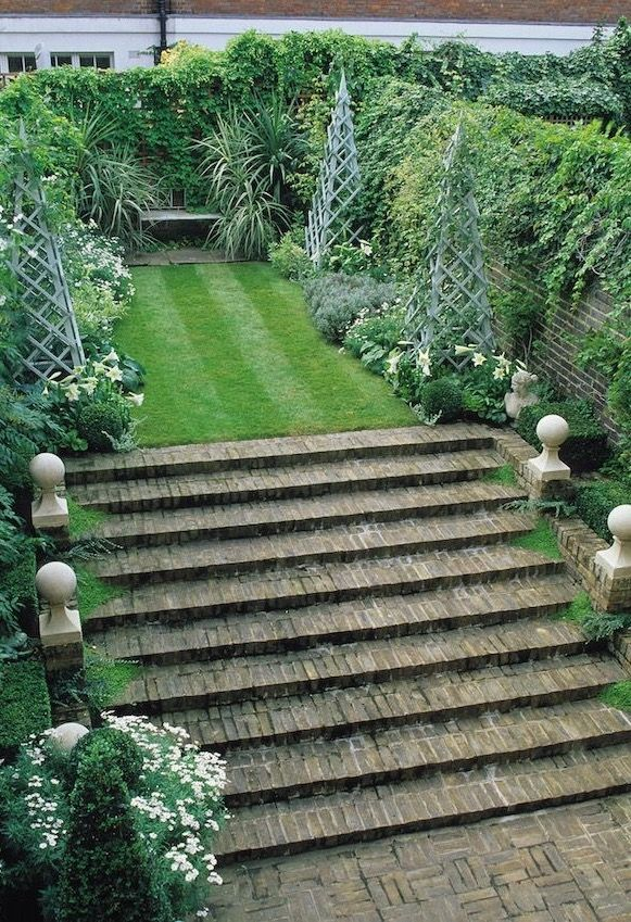 Full Garden In Backyard: 25+ Best Ideas About Brick Steps On Pinterest