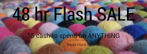 48 Hour Flash Sale. Check out the website for great specials.
