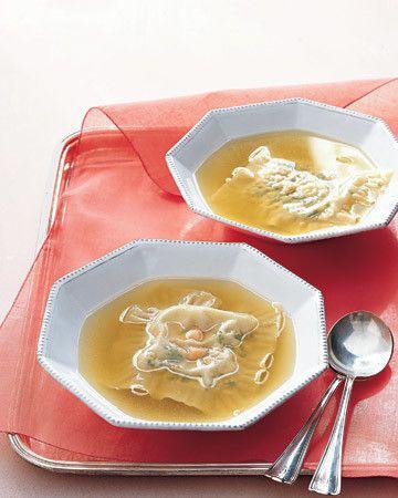 Stuffed-Noodle Soup