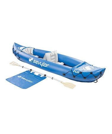 Look what I found on #zulily! Fiji™ Two-Person Inflatable Kayak #zulilyfinds