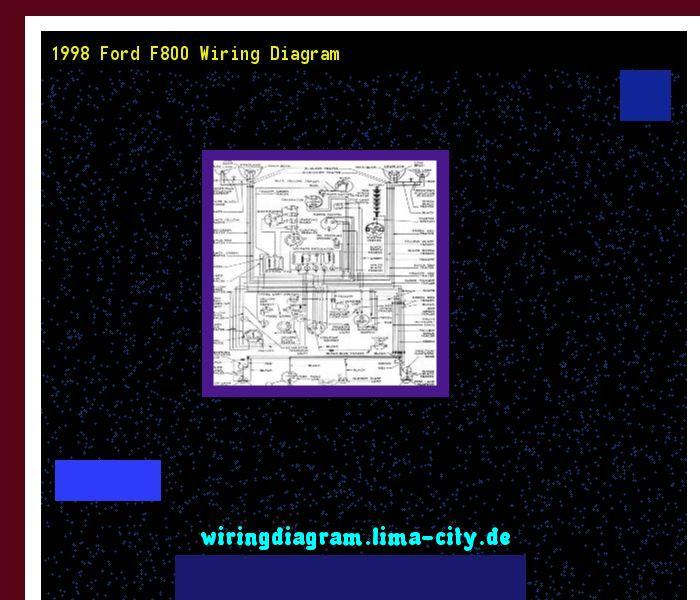 1998 Ford F800 Wiring Diagram  Wiring Diagram 185733