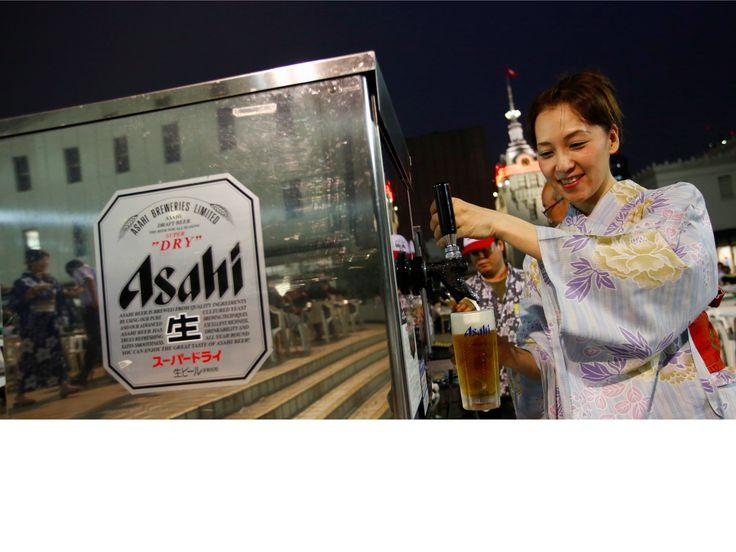 Japanese beer giant Asahi is buying 5 European beer brands for $7.8B