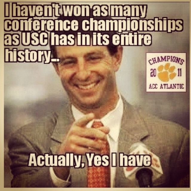 Dabo head Clemson football coach
