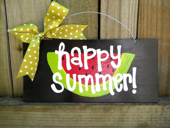 Happy Summer Sign