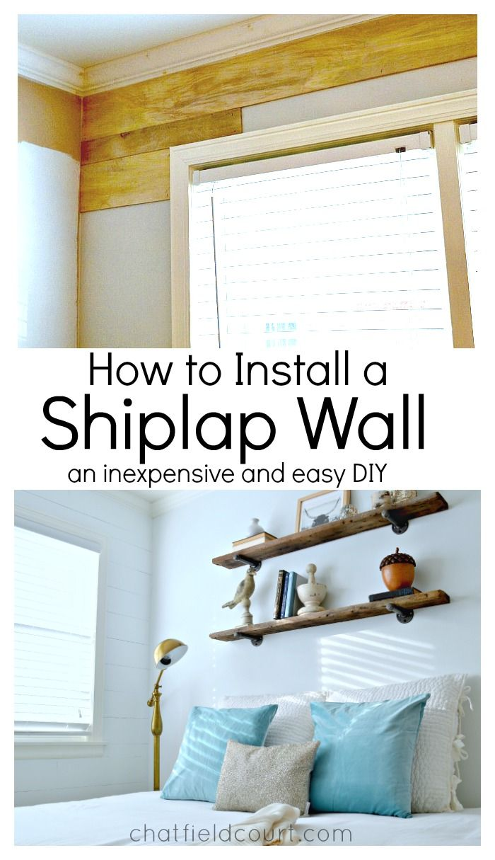 Best 25 installing shiplap ideas on pinterest diy ship How to redo your room without spending money