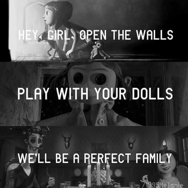 Coraline/ Dollhouse~Melanie<<THIS IS SO COOL AND CREEPY OMG