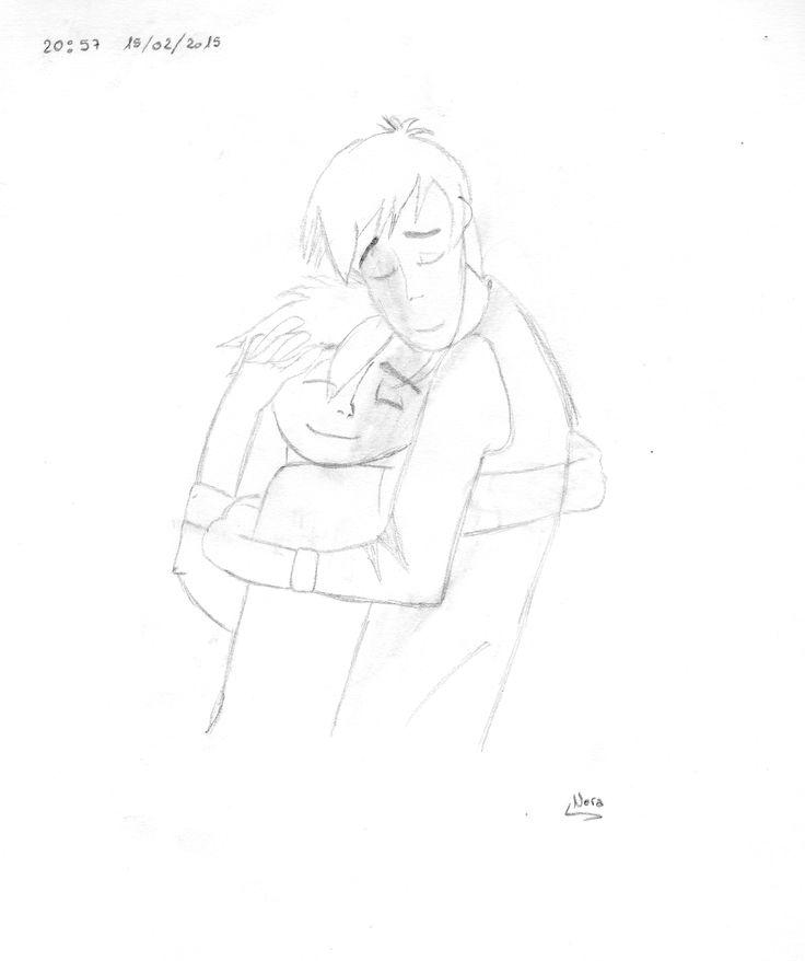 Hiro y Tadashi abrazandose, de la pelicula Big Hero 6 !!