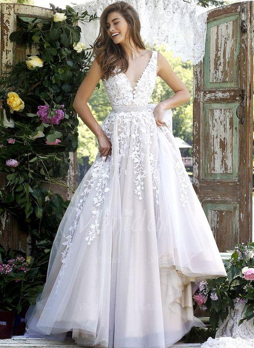 99 best Wedding Dress images on Pinterest | Wedding frocks, Bridal ...