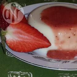 Foto de la receta: Gelatina de queso con fresas