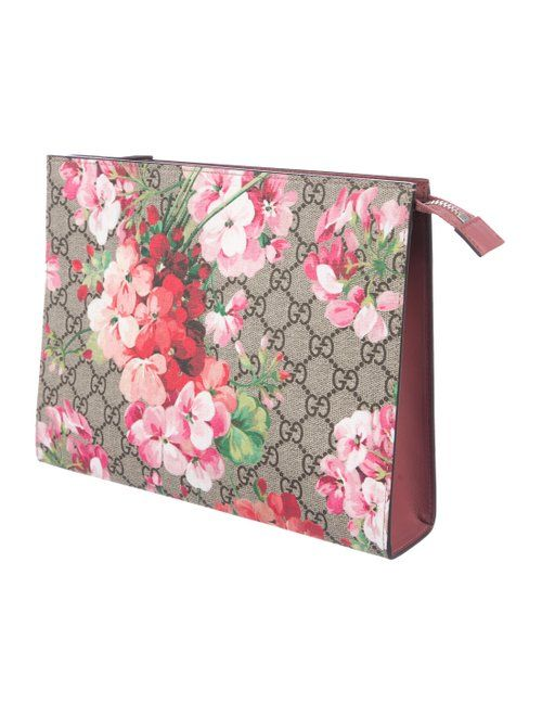 1d929637384 Gucci GG Blooms Large Cosmetic Case - Handbags - GUC265022
