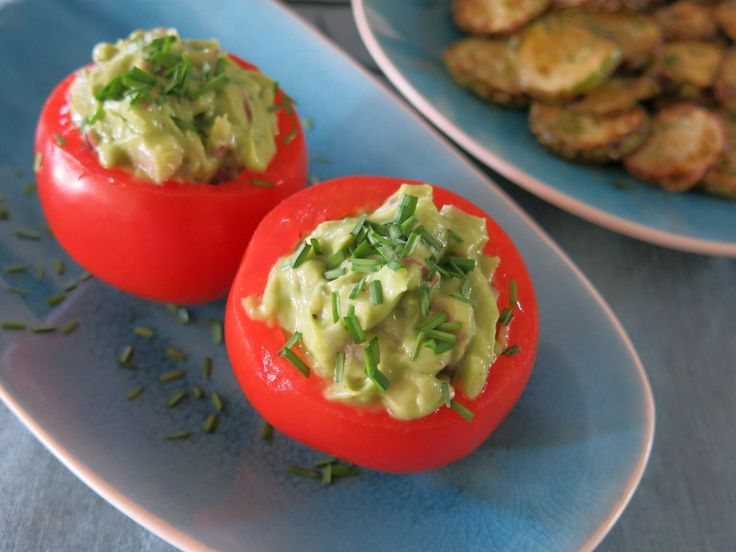 """Zingy Avocado Dip in Tomato Cups VeganMoFo Day 13 I spent all day in the kitchen the other day so that I have some recipes to post as part of VeganMoFo. I am rushing things at the moment because I'll be leaving tomorrow for Ubud, Bali. If you find any errors in the recipes, please… <a href=""""http://vegfusion.org/zingy-avocado-dip-in-tomato-cups/"""" class=""""more-link"""">Continue reading <span class=""""screen-reader-text"""">Zing..."""