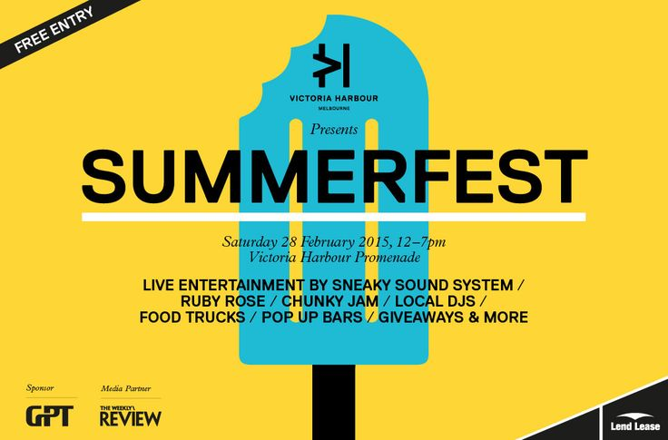 (I might be working) Victoria Harbour presents Summerfest 2015
