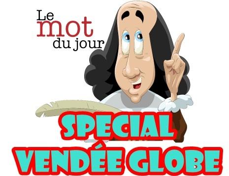 Mot du jour spécial Vendée Globe pour le mois de Décembre avec mes CE1.
