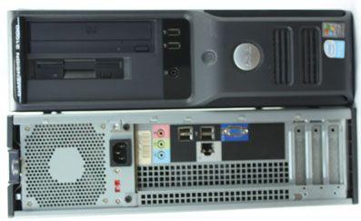 Calculatoare second hand  Dell 3100C/Celeron D 3.06G/1G/80G/DVD/Desktop #calculatoaresecondhand #calculatoaresh