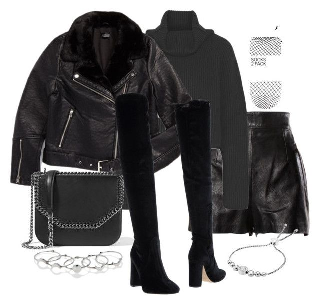 """""""Untitled #3262"""" by theeuropeancloset on Polyvore featuring Moschino, Haider Ackermann, Topshop, STELLA McCARTNEY, Bianca Di, MANIAMANIA, Michael Kors and H&M"""