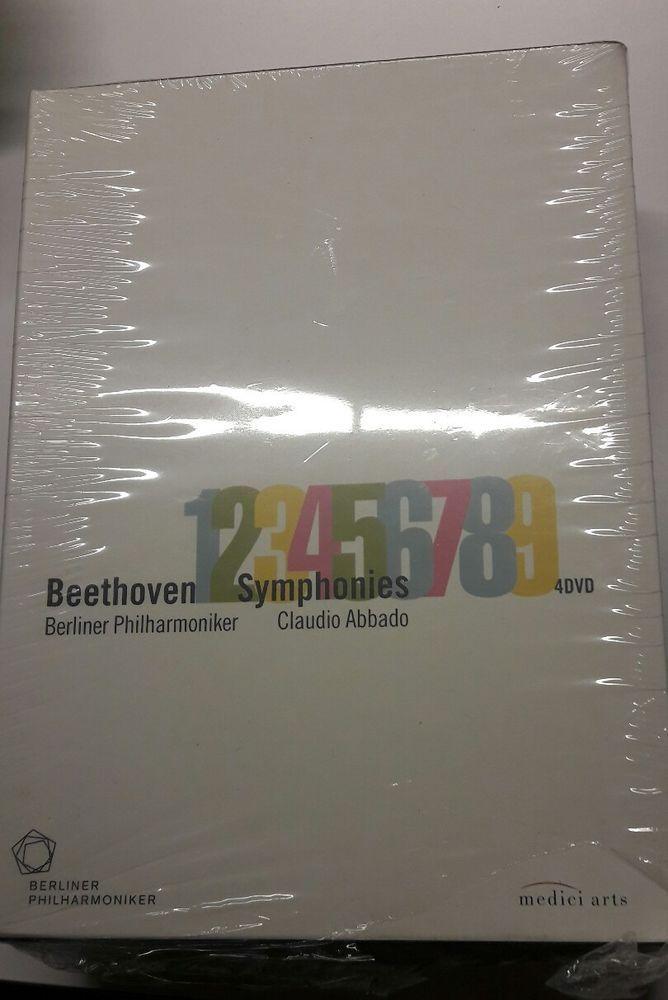 4 DVD BOX I Claudio Abbado & Bpo BEETHOVEN  - Sinfonien 1-9 [DVD] NEU  in Filme & DVDs, DVDs & Blu-rays | eBay!