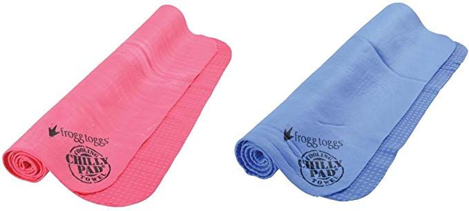 Frogg Toggs Chilly Pad Cooling Towel One Size Hot Pink Personal