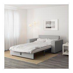 VILASUND Sofá cama 2 plazas, Orrsta gris claro - - - IKEA