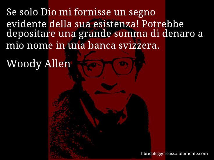 Cartolina con aforisma di Woody Allen (8)