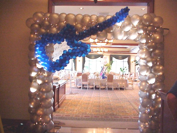Guitar entrance balloon ideas pinterest arches for Arch decoration pictures