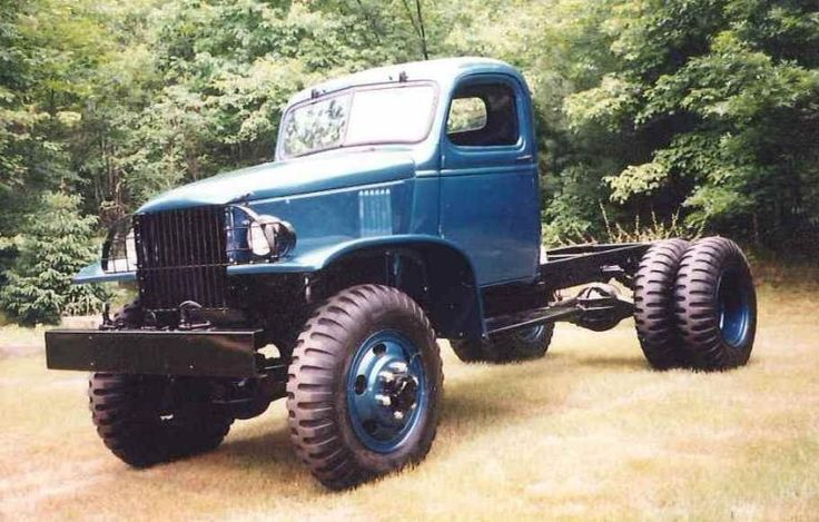 1942 Chevrolet CCKW 1 1/2 Ton Flatbed Truck.