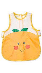 Baby-Lätzchen in orange
